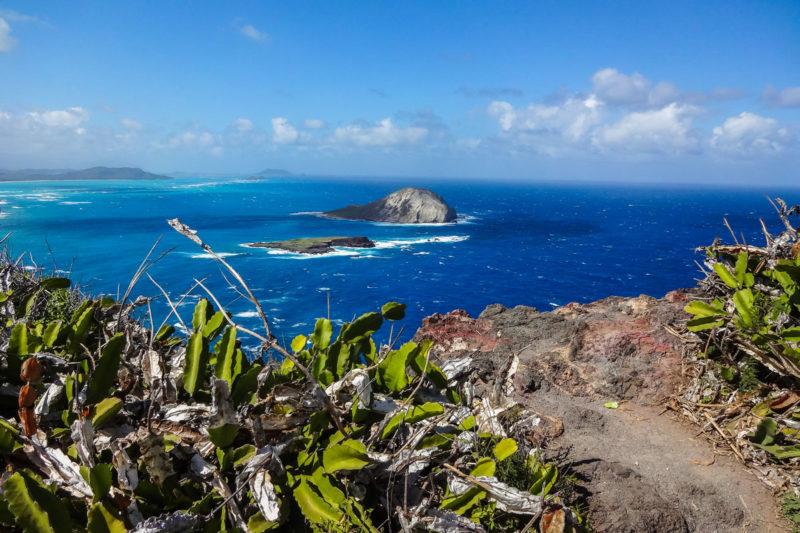 オアフ島マカプウ岬からの絶景